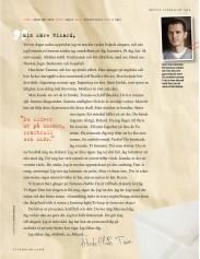 Abdellah Taïa skriver brev till Rikard Woolf i Vi Läser